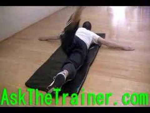 股関節を上手に使えるようにしよう!うつ伏せで行うダイナミックストレッチ!