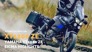 6. 2018 Yamaha XT1200ZE Super Ténéré Raid Edition | Launch Highlights at EICMA 2017.