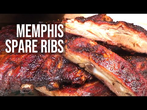 How to Make  Barbeque Tennessee Dry Rub Spare Ribs – BBQ