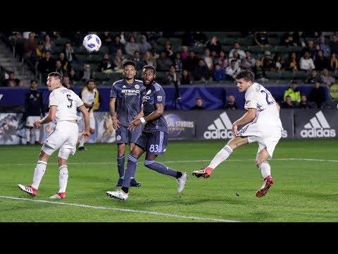 Video: GOAL! Tomas Hilliard-Arce doubles the Galaxy's lead