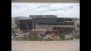 Hospitality Hall Construction Time-Lapse