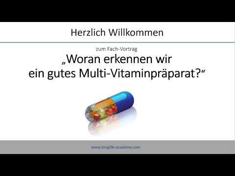 Woran erkennen wir ein gutes Multivitaminpräparat?