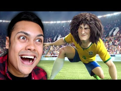REACTING TO WORLD CUP FOOTBALL ANIMATIONS (видео)