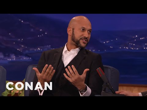 Keegan-Michael Key On Playing Luther & Meeting Obama  - CONAN on TBS