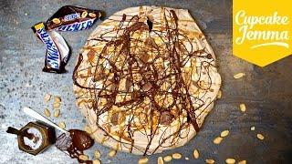 How to Make a Filthy Snickers Pavlova   Cupcake Jemma by Cupcake Jemma
