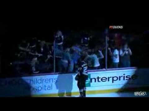 Fans Fight Over Hockey Stick At Game