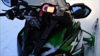 4. 2012 Arctic Cat XF 1100 Sno Pro - Cold Start in -18C