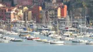 Lerici Italy  city photos : Fantastic harbor view from Hotel Florida balcony, Lerici, ITALY