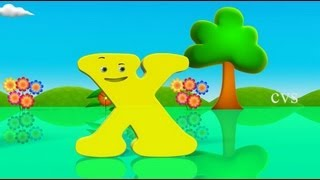 Learn English Alphabet for kids ( ABCD Song) - 3D Animation rhyme Fun