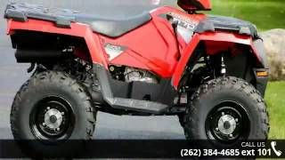 5. 2015 Polaris Sportsman 570 Indy Red  - Action Power Sport...