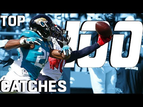 Top 100 Catches of the 2018 Season!  NFL Highlights