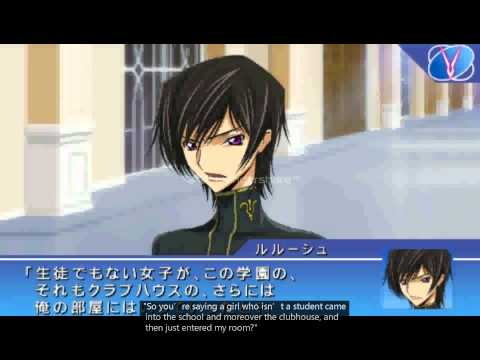 code geass lost colors psp english