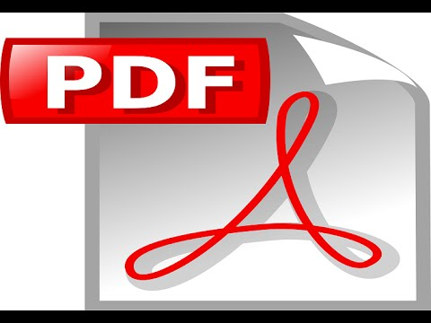 How to install pdf printer and create pdf files-Windows XP, VISTA, 7,8,8.1 & 10