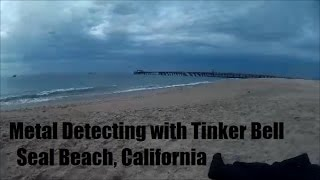 """I took out my DetectorPro """"Underwater"""" to Seal Beach. While I was looking for treasure, Tinker Bell popped up and surprised me. I attempted to find some treasures in the water first, but found the waves were too powerful and my sand scoop too crappy. Frankenscoop needs to die!The music in my video is royalty free music I found at http://www.bensound.com and it's called Ukulele. I liked it for the beach scenery...it kinda matches. I filmed with a SJ4000, which is similar to a GoPro Hero 3 in my opinion. You can decide what you think. I think they're definitely comparable.This was filmed at Seal Beach, California around 10am-noon in Feb 2016. I'm hoping with your support, I can have my videos be seen enough that I can replace Frankenscoop with a decent scoop worth using in the water :)  Finally, please help me rename the DetectorPro Underwater to something more language friendly...Underwater doesn't quite work well.  Comment below! Thanks! Shout out to Beau Ouimette and nuggetnoggin. Gotta love California beaches!"""