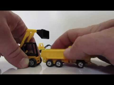 welly tractors and excavator die cast toys טרקטור