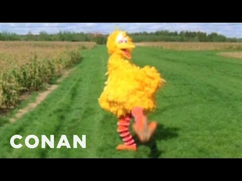 Conan - Big Bird Vs. Romney