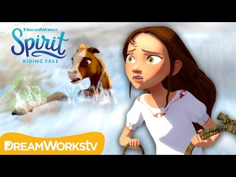 Saving Governor from the River | SPIRIT RIDING FREE