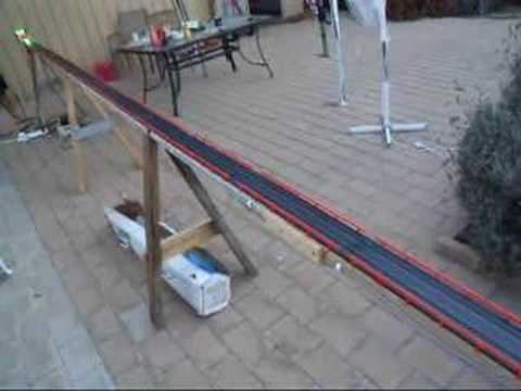 HO Slot Car Drag Racing