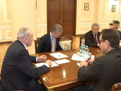 Nicolae Timofti a prezidat o ședință despre situația actuală din justiție