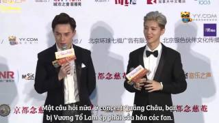 Download Lagu [Vietsub] 160403 Global Chinese Golden Chart Awards - Interview with Luhan Mp3