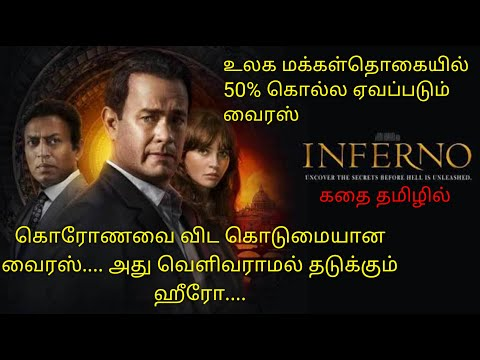 Inferno|Tamil voice over|English to Tamil|Tamil dubbed movies download|story explained in tamil|