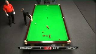 Ronnie O'Sullivan - Lyu Haotian (Full Match) Snooker Bluebell Wood Open 2013 - Round 6
