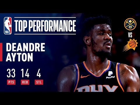 Video: Deandre Ayton Scores A Career High 33 Points (24 Pts in the 2nd Qtr) | December 29, 2018