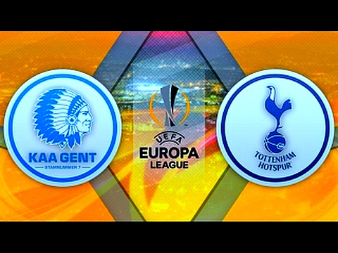 Gent 1-0 Tottenham Hotspur. UEFA Europa League