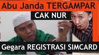 Video Abu Janda DIGAMPAR Cak Nur, gegara REGISTRASI SIMCARD MP3, 3GP, MP4, WEBM, AVI, FLV Maret 2018