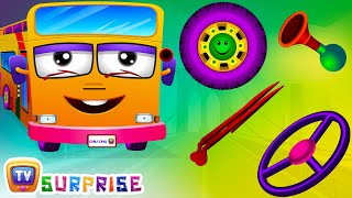 Wheels On The Bus Surprise Eggs Nursery Rhymes - Learn Colours & Parts of the Bus with ChuChu TV Surprise Eggs Nursery Rhymes. Make your kids enjoy the surpr...