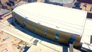 Wisconsin Entertainment and Sports Centre – July Aerial Drone Overview