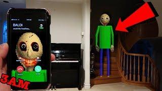 Video (CREEPY) CALLING BALDI'S BASICS ON FACETIME AT 3AM | BALDI CAME TO MY HOUSE AT 3AM! MP3, 3GP, MP4, WEBM, AVI, FLV Maret 2019