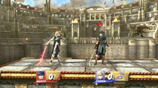 """Corrin has so much range on his Fair!"". I say, ""Welcome to the world of Marth…""."