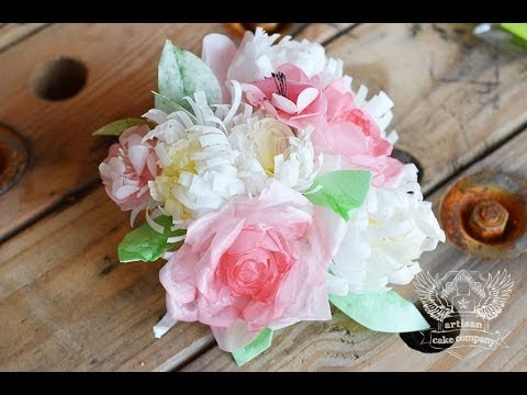 Sugar Geeks Show Episode 1 – How To Make Wafer Paper Flowers