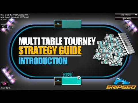 Multi Table Tournament Strategy Guide  – Part 1 (introduction)