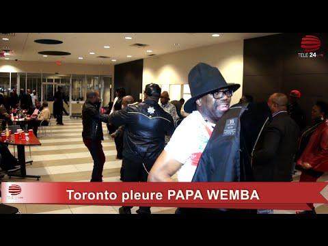 TÉLÉ 24 LIVE: Soirée d'adieu à Papa Wemba