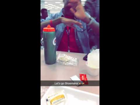 A Lunch at Shoemaker High School