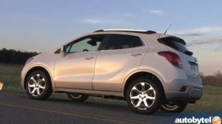 2013 Buick Encore Test Drive&Luxury Crossover Video Review