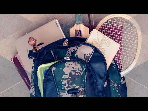 Heavy School Backpacks - Behind the News
