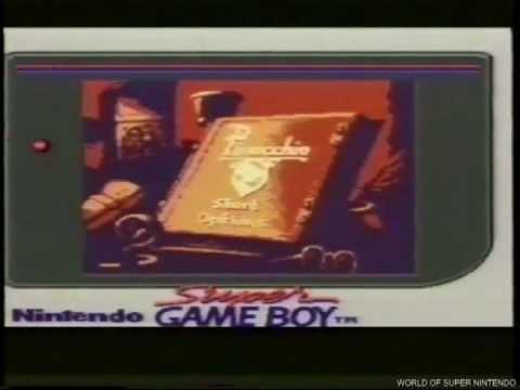 Pinocchio Game Boy