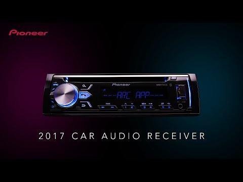 2017 Pioneer Car Audio Receiver Introduction Video general