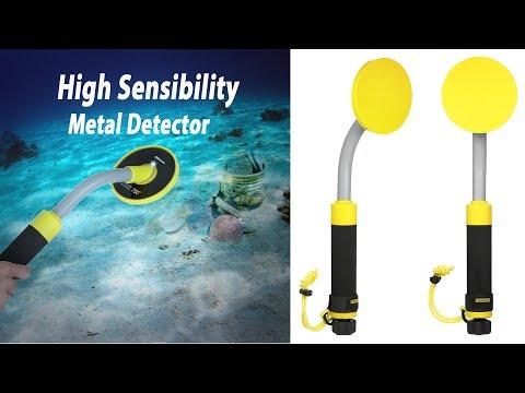 KKmoon High Sensibility 98ft Waterproof Handheld Pinpointer Pulse Induction Metal Detector