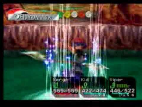 Chrono Cross Final Battle - Dragon God Part 2