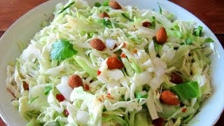 How To Make Coleslaw - Chipotle Vinaigrette Coleslaw Recipe