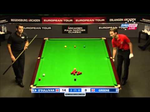 Ronnie O'Sullivan - Gerard Greene (Full Match) Snooker Paul Hunter Classic 2013 - Final