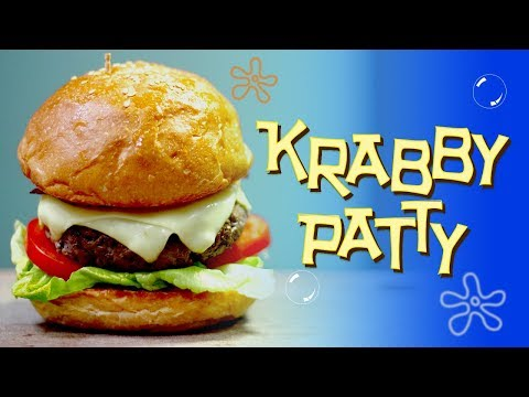RESEP KRABBY PATTY | KRABBY PATTY RECIPE | SPONGEBOB SQUAREPANTS INSPIRED DISH | MOVIE RECIPE #2