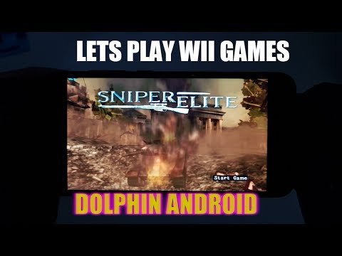Playing Sniper Elite on Android Smartphone/Wii games Dolphin Emulator/War Games