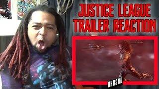 Video JUSTICE LEAGUE - Official Heroes Trailer REACTION & REVIEW (MY MAN!!!) MP3, 3GP, MP4, WEBM, AVI, FLV September 2018