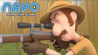 Video ARPO The Robot For All Kids - Duck Hunt   Compilation   Cartoon for Kids MP3, 3GP, MP4, WEBM, AVI, FLV Maret 2019