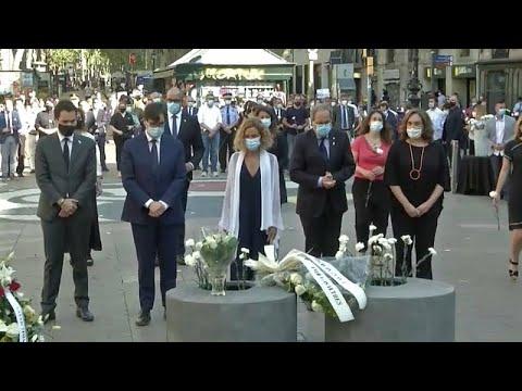 Επέτειος τριών ετών από την τρομοκρατική επίθεση στη Βαρκελώνη…